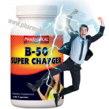 Pharmekal B-50 SUPERCHARGER - B-vitamin komplex 100 db