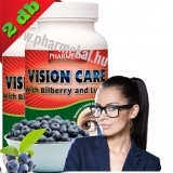 AKCIÓS csomag (2x60db) Vision Care Bilberry+Lutein