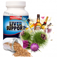 Pharmekal Liver Support - Máriatövis 1000 mg 90 db